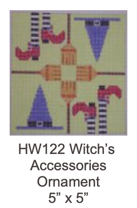 Eye Candy HW122 Witch Accessories