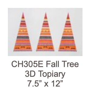 Eye Candy CH305E Fall Tree Topiary