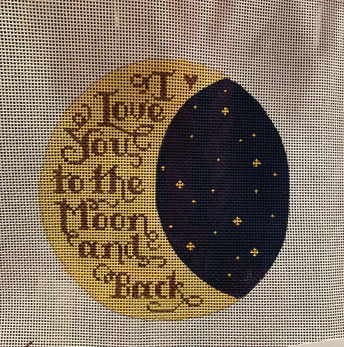 Heidi Stanley I love you to the moon and back with dark sky