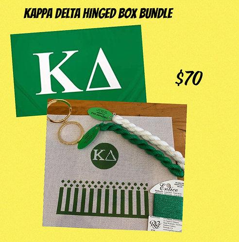Kappa Delta Hinged Box Grab and Go Bundle
