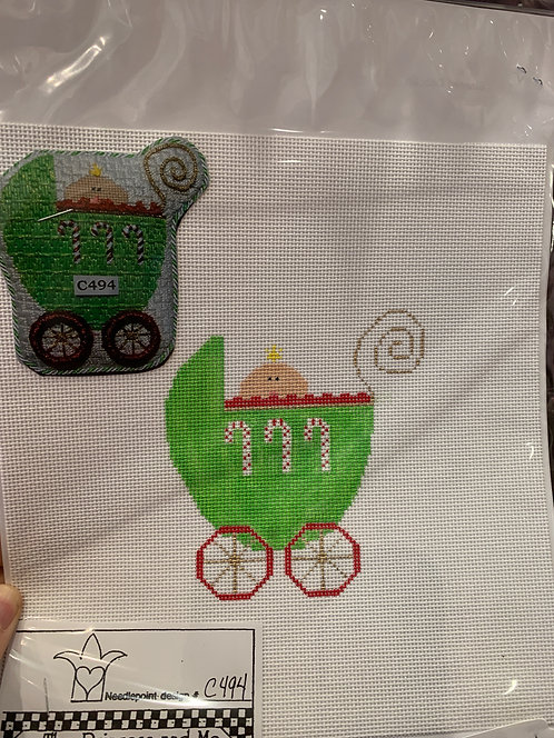 Princess and Me Baby Carriage with Stitch Guide