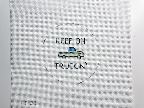 Hello Tess PP-83 Keep On Truckin'