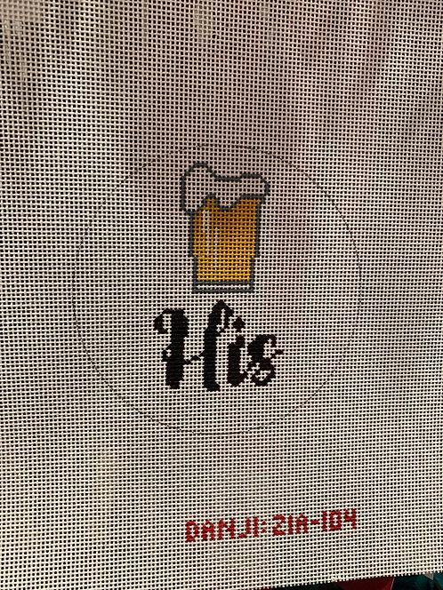 ZIA104 His Beer Ornament