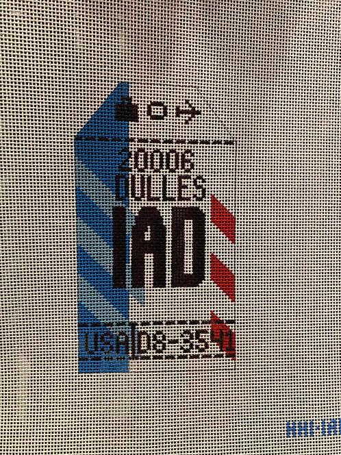 HedgeHog IAD Dulles Travel Tag