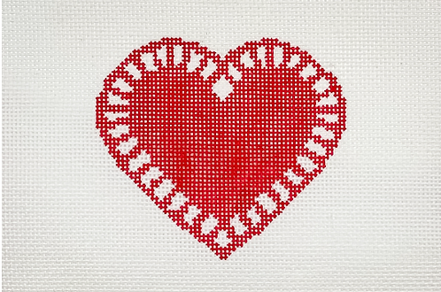 Mopsey Designs MD-10.01 Love Doily (Red)