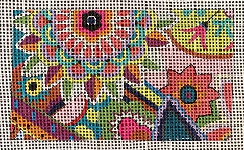 Colors of Praise Vibrant Floral - 13 mesh