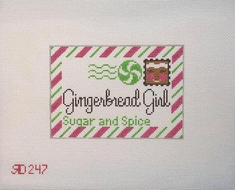 Rachel Donley RD247 Gingerbread Girl 18 mesh