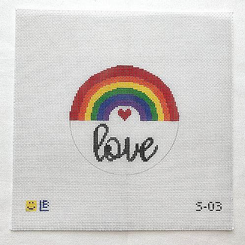 Lauren Bloch Rainbow Love...18 mesh