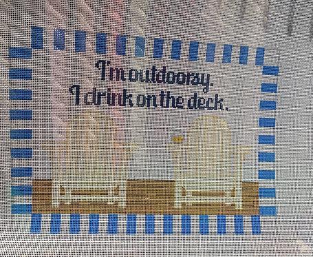 Rachel Donley RD156 Drink on Deck 18 mesh