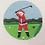 Thumbnail: Ann Kaye Golfing Santa