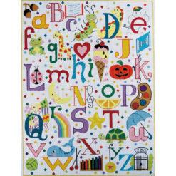 AP3061 Multi-Colored Alphabet