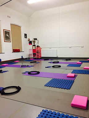 Postnatal Pilates class at The Studio Leighton Buzzard