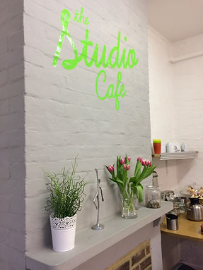 cafe at The Studio pilates studio Leighton Buzzard