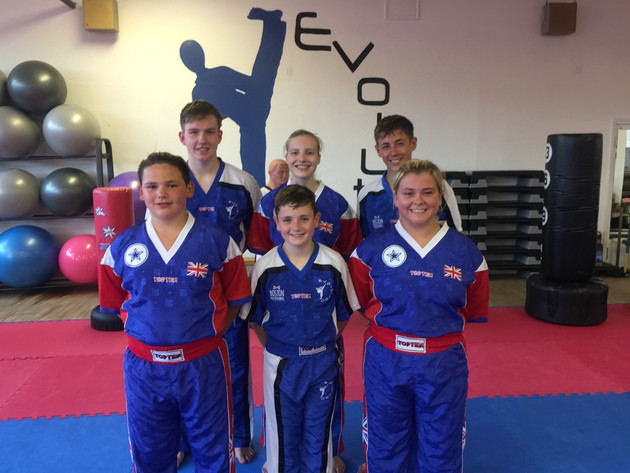 Six Boston Kickboxers selected to represent Team GB