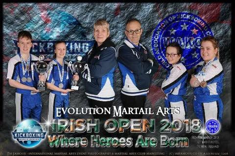 Double Irish Open World Cup Champions for Evolution Martial Arts