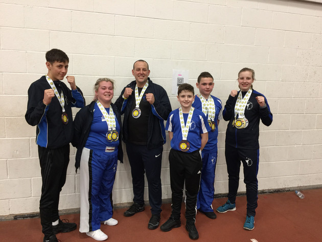 WAKO Kickboxing National Champions