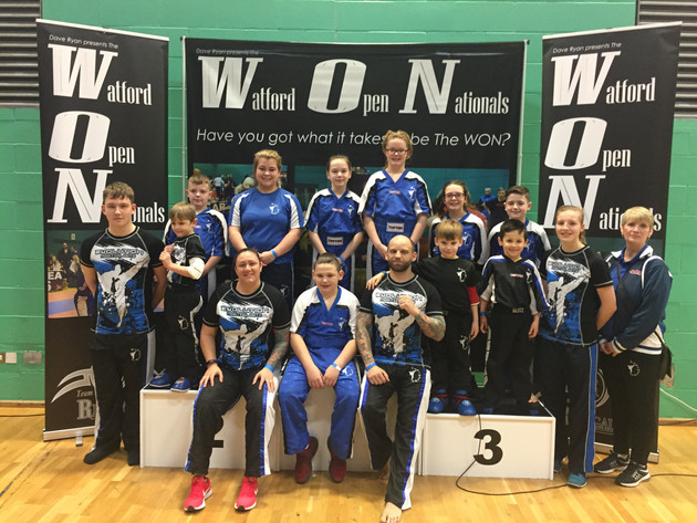 Evolution take home flurry of medals at the Watford Open Nationals 2018