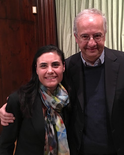 with Walter Veltroni
