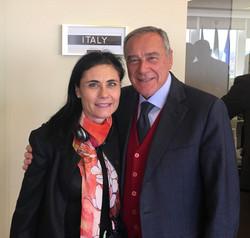 with Pietro Grasso