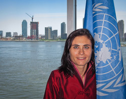 At the United Nations
