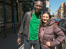 with Omar Sy