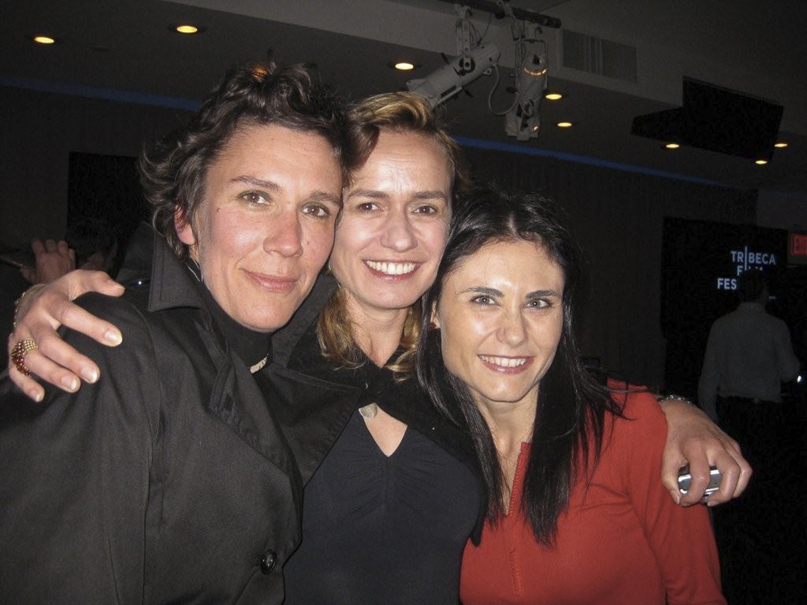 with Caroline Bottaro & Sandrine Bonnaire