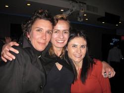 with Caroline Bottaro & Sandrine Bonnaire