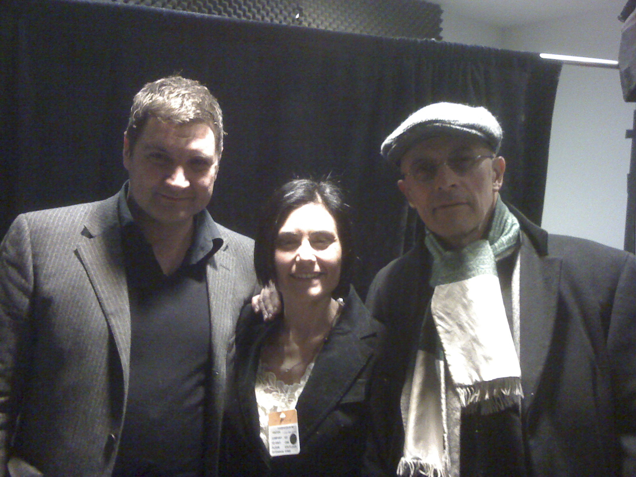 With Jaques Audiard and his producer