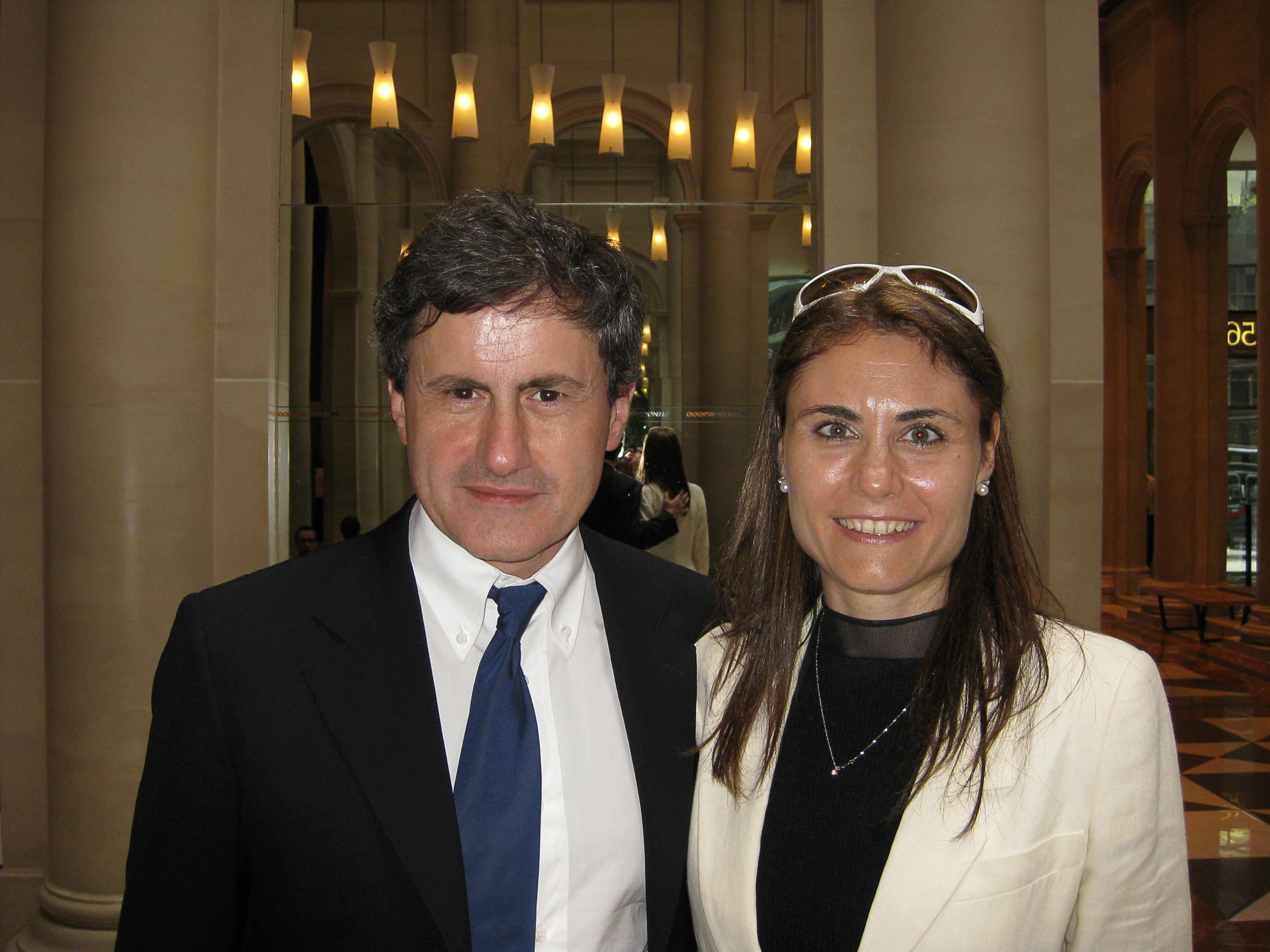 with Gianni Alemanno