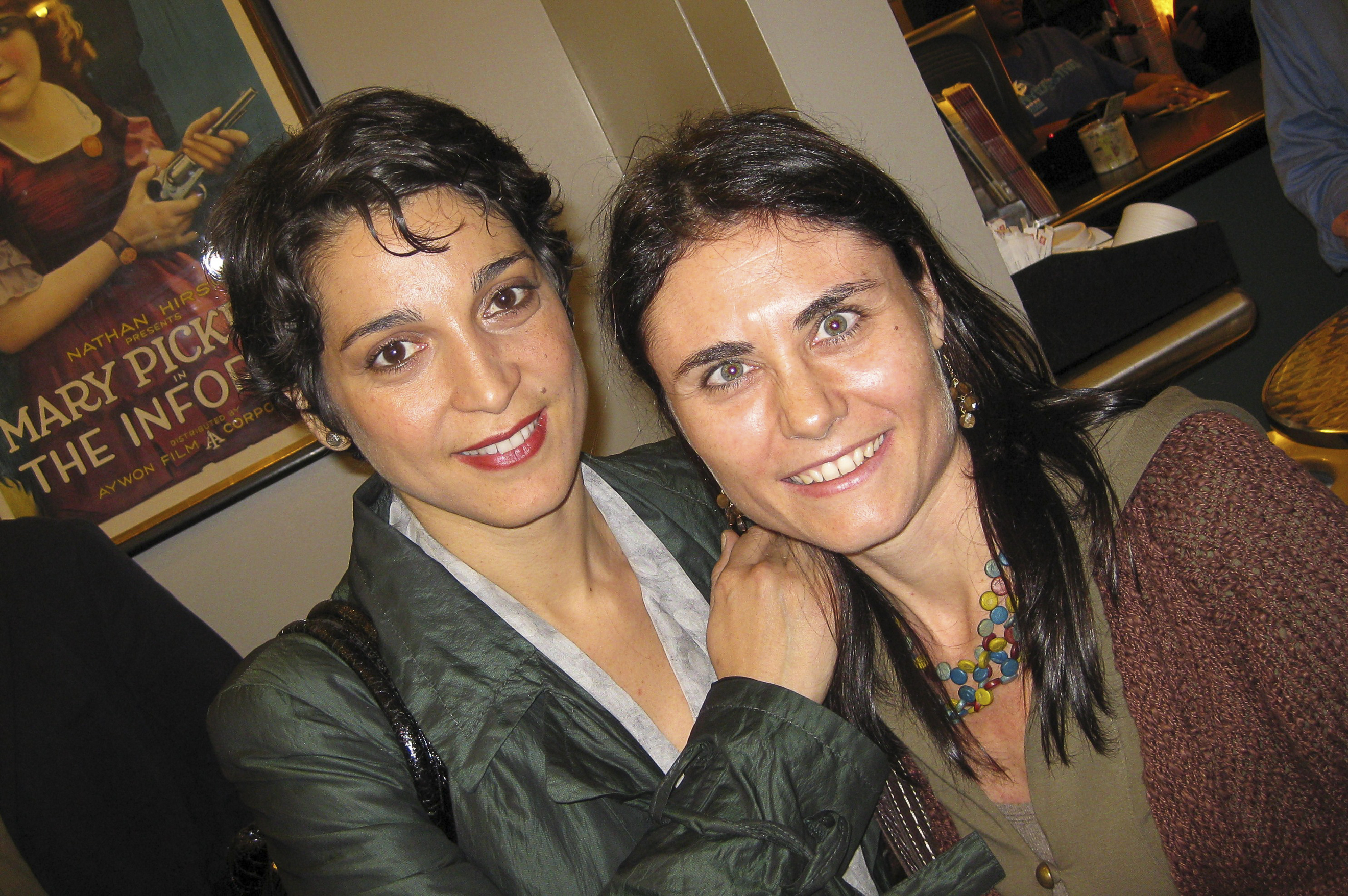 with Donatella Finocchiaro