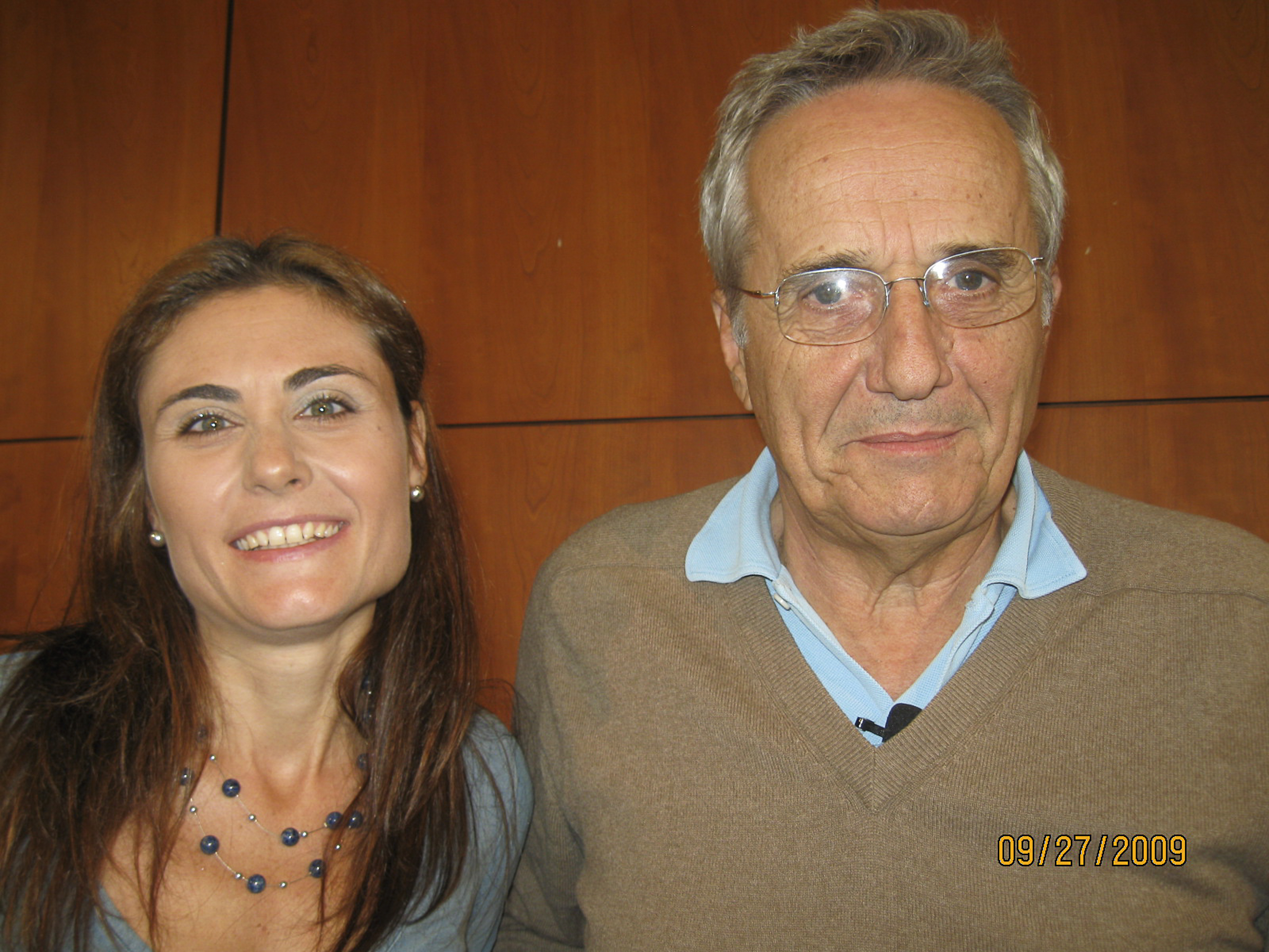 with Marco Bellocchio