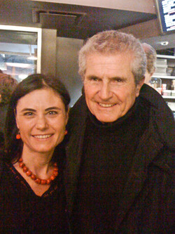 with Claude Lelouch