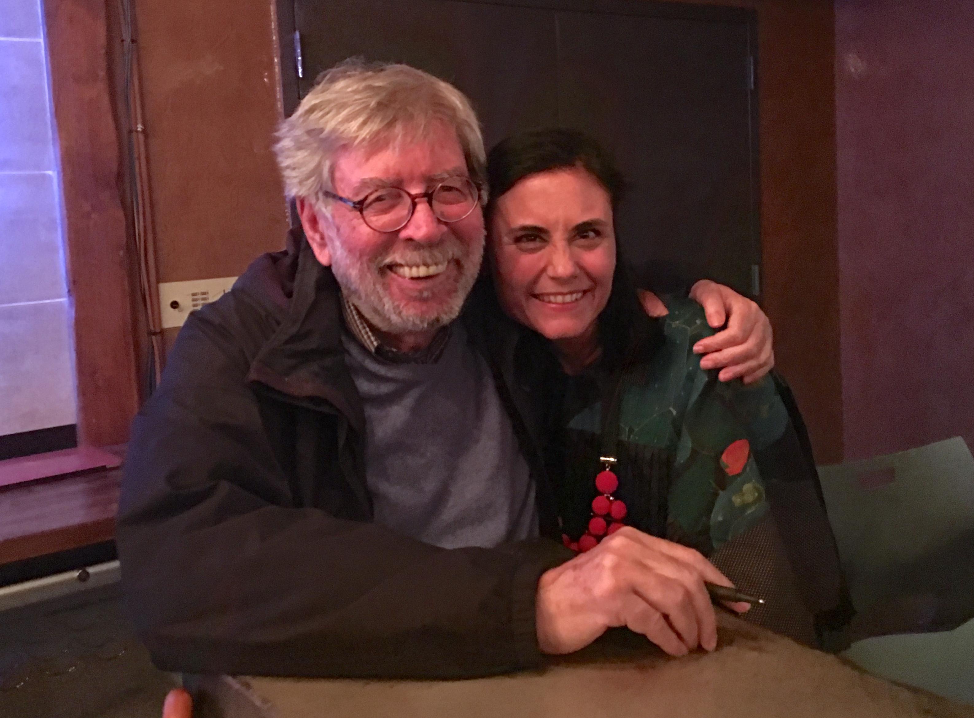 with Domenico Starnone