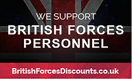 British Forces Personnel discounts pic