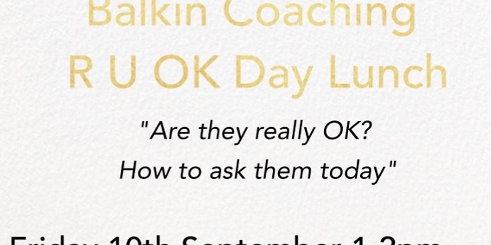 Balkin Coaching  R U OK Day  2021