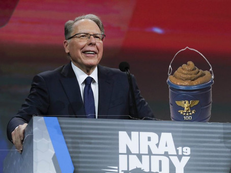 NRA Proposes Arming Professors With Own Buckets of Feces