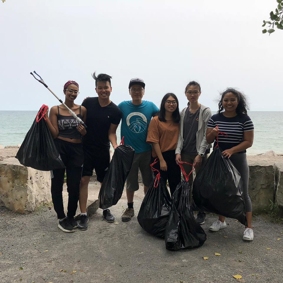 Port Union Shoreline Cleanup