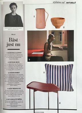 Favourite right now in the Swedish Magazine Plaza Interior