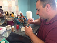 Darren Longthorne Puppet Making