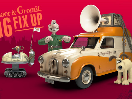 Wallace and Gromit go CGI!