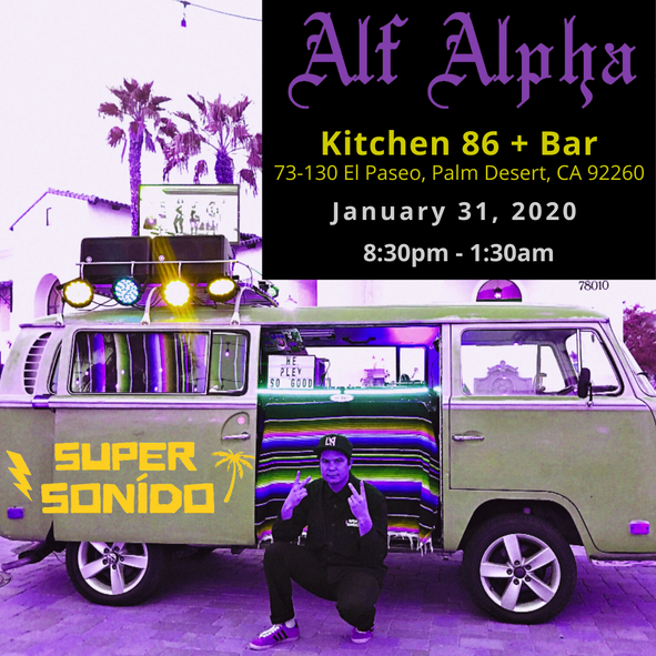 Super Sonido Popup with Alf Alpha