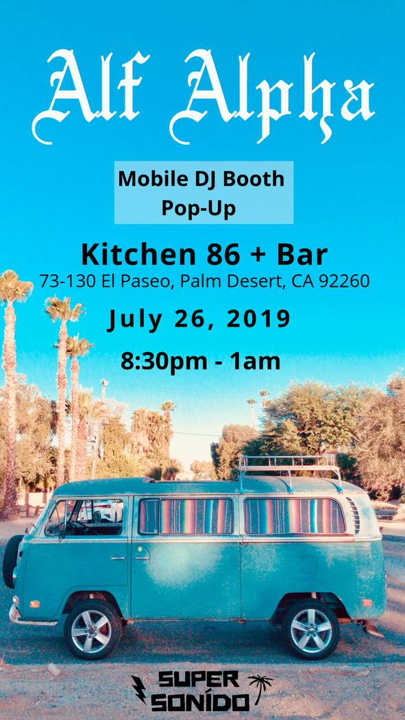 Kitchen86 + Bar & Alf Alpha Pop-up