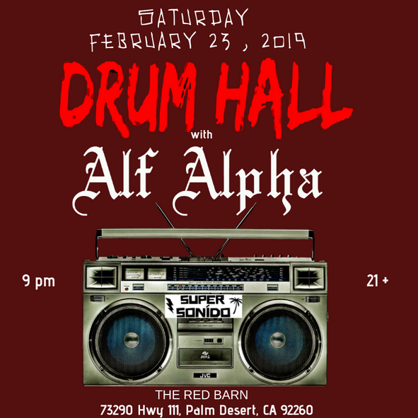 DrumHall & Alf Alpha Live at The Red Barn  Feb 23, 2019