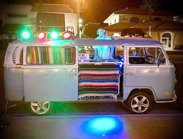 Alf Alpha Mobile VW Bus DJ Booth