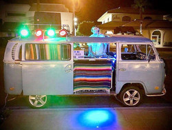 Alf Alpha Mobile VW Bus DJ Booth