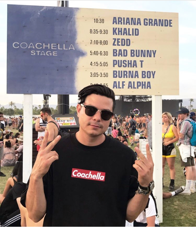 Alf Alpha Coachella 2019 Main Stage