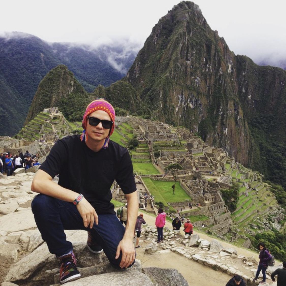 Alf Alpha @ Machu Pichu Peru