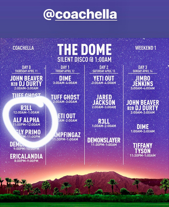 Alf Alpha at Coachella 2019
