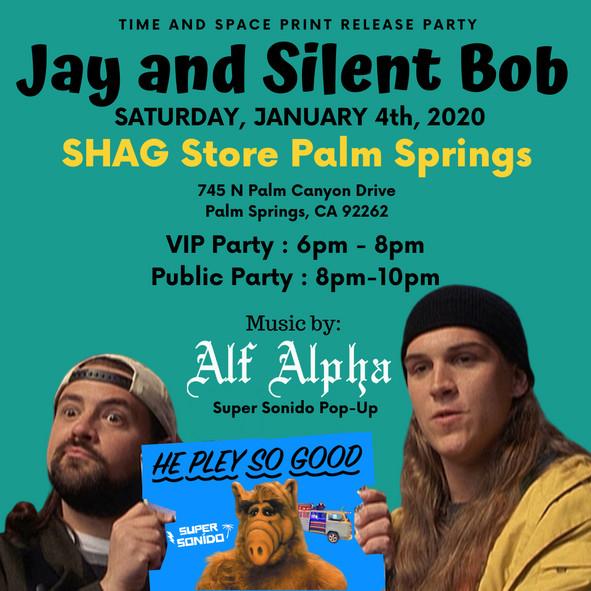 Jay & Silent Bob x Super Sonido Pop-up