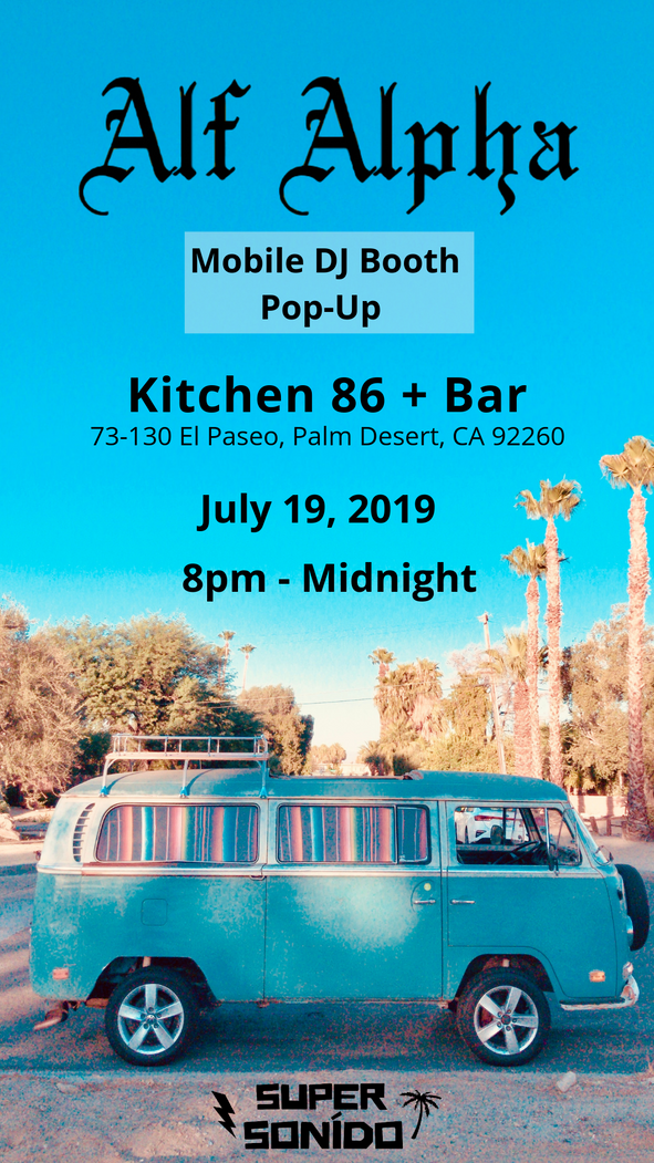 Kitchen 86 + Bar & Alf Alpha Pop-up